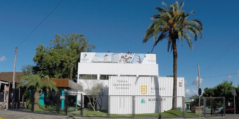 Nova sede da empresa em Portão