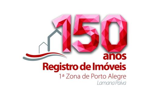 Logotipo comemorativo dos 150 anos