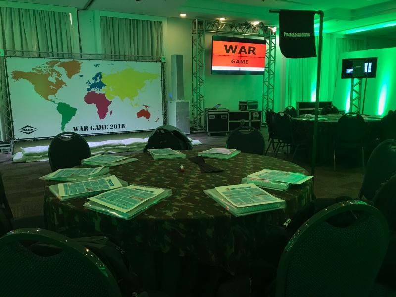 Sala de Guerra para Sodexo e DanaBrasil
